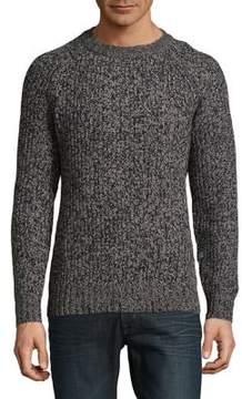 Black & Brown Black Brown Static Sweater