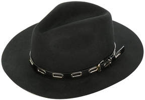Ermanno Scervino trim detail fedora hat