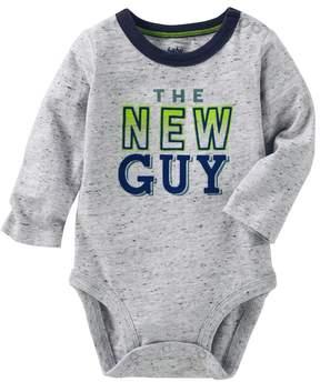 Osh Kosh Baby Boy The New Guy Graphic Nep Bodysuit