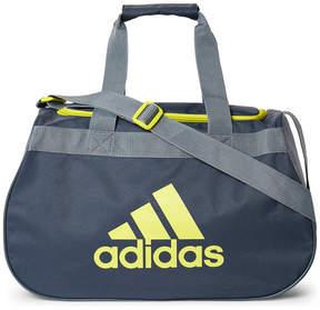 adidas Grey & Lime Diablo Small Duffel Bag