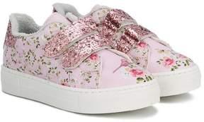MonnaLisa floral print sneakers