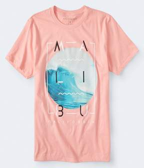 Aeropostale Malibu Wave Graphic Tee