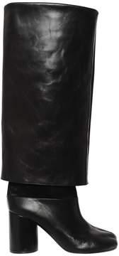 Maison Margiela 80mm Tabi Brushed Leather Boots