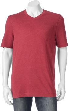 Croft & Barrow Men's Signature Pocket V-Neck Tee