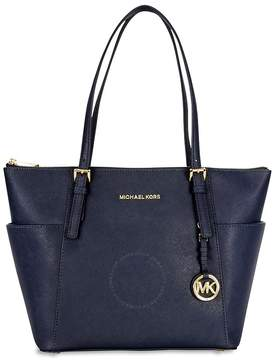 Michael Kors Jet Set Saffiano Leather Tote - Admiral - ONE COLOR - STYLE