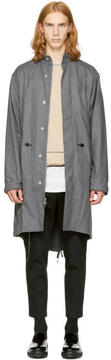 3.1 Phillip Lim Tan Wool Fish-Tail Parka