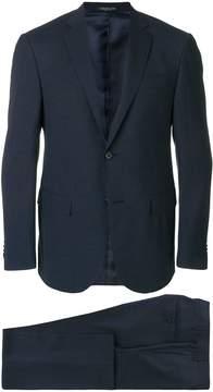 Corneliani micro print single breasted suit