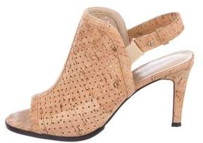Sesto Meucci Laser-Cut Cork Booties