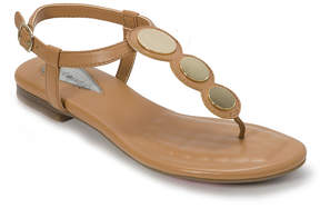 Foot Petals Caramel Ellie Leather T-Strap Sandal - Women
