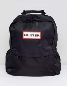 Hunter Small Black Nylon Backpack