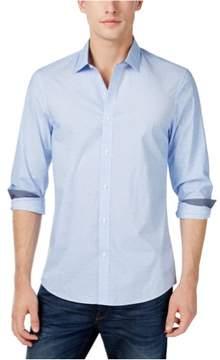 Michael Kors Swirl Button Up Shirt Blue 3XL