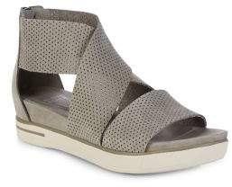 Eileen Fisher Sport3 Strappy Leather Sandals
