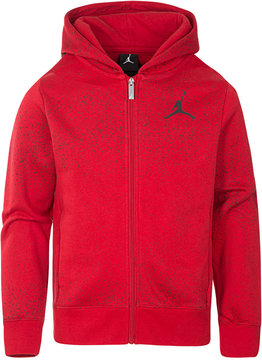 Jordan Full-Zip Flight Fleece Hoodie, Big Boys (8-20)