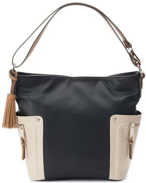 Rosetti Brye Colorblock Convertible Hobo