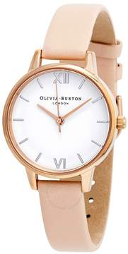 Olivia Burton White Dial Ladies Watch