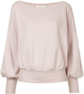 ESTNATION fitted cuff sweater