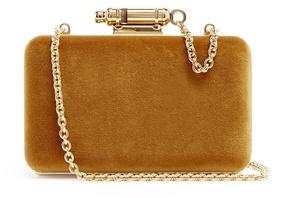Sophie Hulme Whistle velvet cross-body bag
