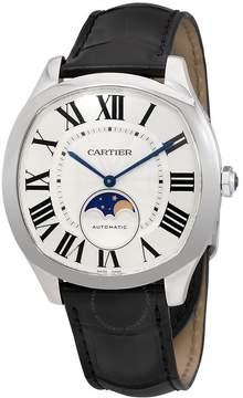Cartier Drive de Silvered Flinque Dial Automatic Men's Watch