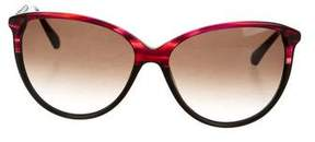 Balmain Marbled Cat-Eye Sunglasses