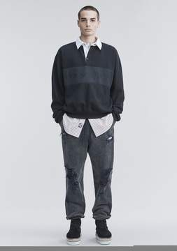 Alexander Wang FLEECE POLO SHIRT