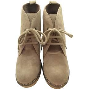 Serafini Beige Leather Heels