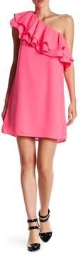 Do & Be Do + Be One Shoulder Ruffle Dress