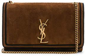 Saint Laurent Medium Suede Monogramme Kate Chain Bag