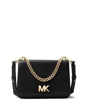 MICHAEL Michael Kors Mott Large Chain Swag Shoulder Bag, Black