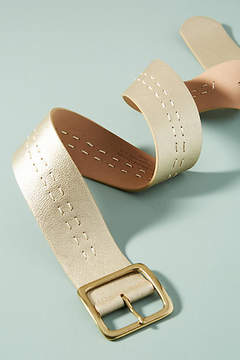 Anthropologie Coventry Stitched Belt