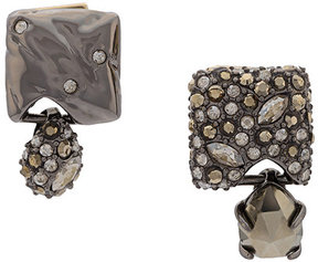 Alexis Bittar crystal embellished square earring