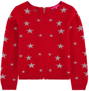 Derhy Kids Star print wool blend sweater