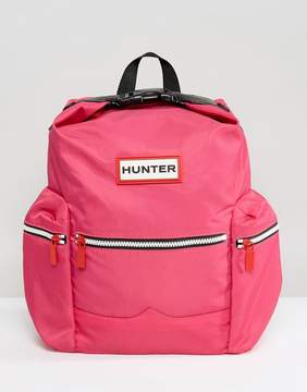 Hunter Original Mini Pink Nylon Backpack