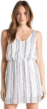 Bella Dahl Crossback Dress-White-S