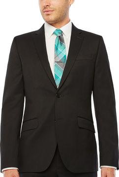 Jf J.Ferrar Stripe Slim Fit Stretch Suit Jacket-Slim