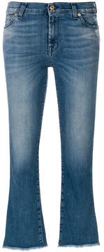 7 For All Mankind cropped jeans with flare