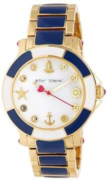 Betsey Johnson Women's Ship Shape Bracelet Watch