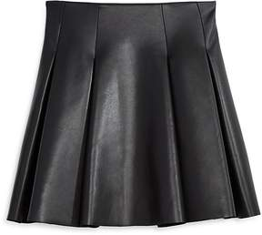 Aqua Girls' Faux Leather Mini Skirt , Big Kid - 100% Exclusive
