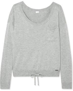 Calvin Klein Underwear Pure Knitted Pajama Top - Light gray