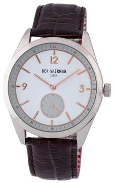 Ben Sherman Men's Carnaby Driver Quartz Watch, 42.5mm