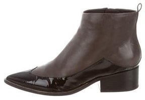 Sigerson Morrison Pointed-Toe Ankle Boots