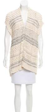 Inhabit Sleeveless Open Front Cardigan w/ Tags