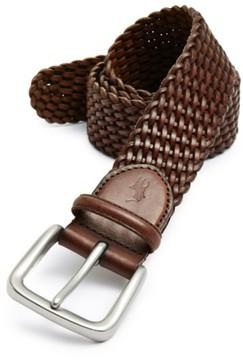 Polo Ralph Lauren Men's Braided Leather Belt