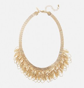 Avenue Cascading Leaf Statement Necklace