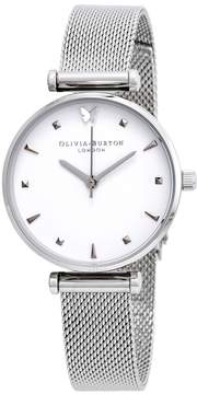 Olivia Burton Social Butterfly White Dial Ladies Watch