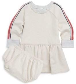 Splendid Baby's Two-Piece Speckle Dress & Bloomers Set