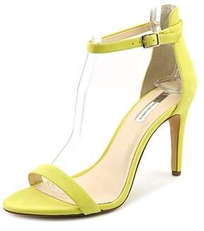 INC International Concepts Roriee Women Open Toe Suede Yellow Sandals.