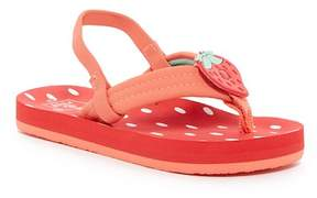 Reef Little Ahi Scents Strawberry Thong Sandal (Toddler, Little Kid, & Big Kid)