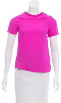 Dolce Vita Silk Short Sleeve Top