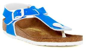 Birkenstock Kairo Neon Blue Sandal (Little Kid) - Discontinued