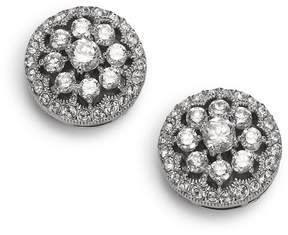 Adriana Orsini Women's Faceted Floral Button Earrings